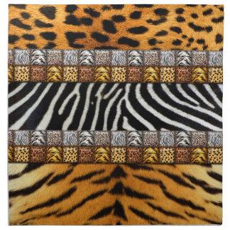 Safari Prints Napkin