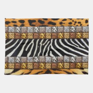 Safari Prints Tea Towel