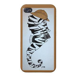 Safari Seahorse iPhone 4 Case