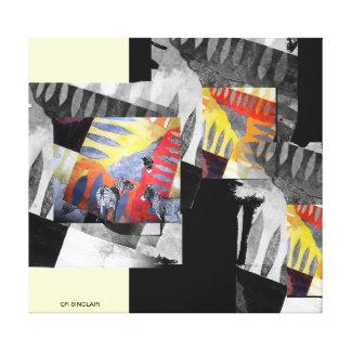 SAFARI SIGHTING by CR SINCLAIR Gallery Wrap Canvas