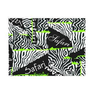 Safari Stretched Canvas Prints