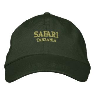 Safari Tanzania Embroidered Baseball Cap