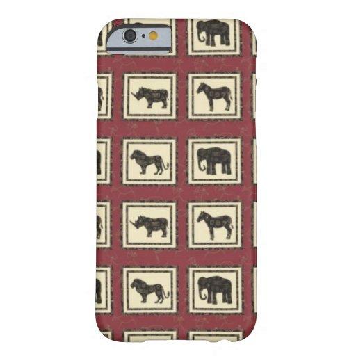 Safari Tiles iPhone 6 Case