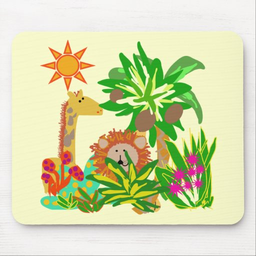 Safari Tshirts and Gifts Mousepads