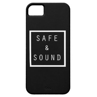 Safe and Sound Black iPhone 5 Covers