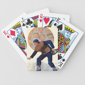 Safe at the Plate Bicycle Playing Cards