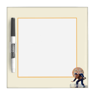 Safe at the Plate Dry Erase Board