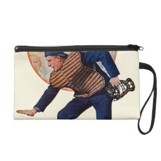 Safe at the Plate Wristlet Purses