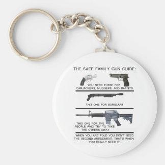 SAFE FAMILY GUN GUIDE KEY RING