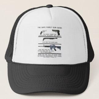 SAFE FAMILY GUN GUIDE TRUCKER HAT