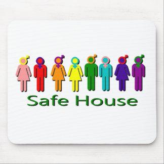 Safe House Mouse Mat