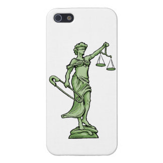 SAFE Justice: iPhone SE  5/5S (Matte or Gloss) iPhone 5/5S Cases
