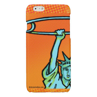 SAFE Liberty Pop1Orange: iPhone 6 (Matte or Gloss) iPhone 6 Plus Case