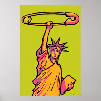 SAFE Liberty Pop Poster #1: 11 x 16.5