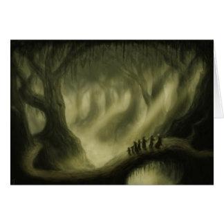 safe passage fantasy art greetingcard greeting card