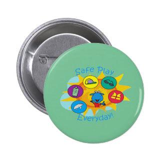 Safe play button