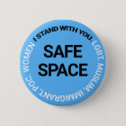 Safe Space for Everyone 6 Cm Round Badge
