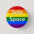 Safe Space Rainbow Pin