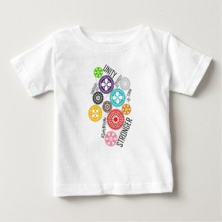 Safe With Me Cogs Baby Jersey T-Shirt