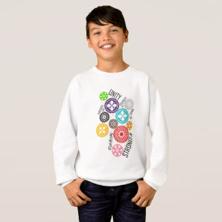 Safe With Me Cogs Boy's Sweatshirt