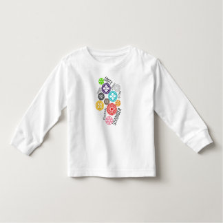 Safe With Me Cogs Toddler Long Sleeve T-Shirt