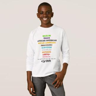 Safe With Me Cross Boy's Long Sleeve T-Shirt