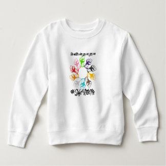 Safe With Me Fists Toddler Sweatshirt