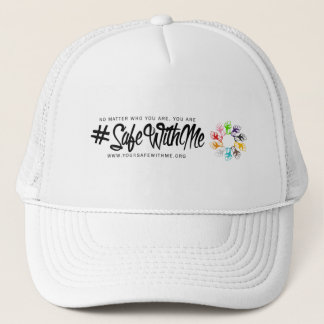 Safe With Me Fists Trucker Hat