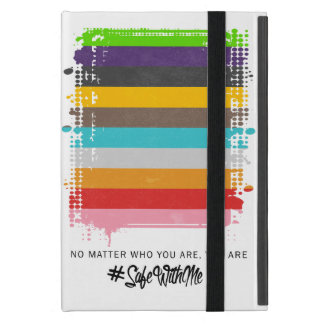 Safe With Me Flag iPad Case