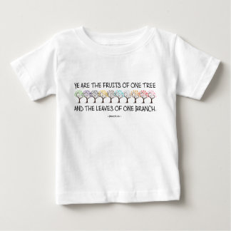 Safe With Me Tree Baby Jersey T-Shirt
