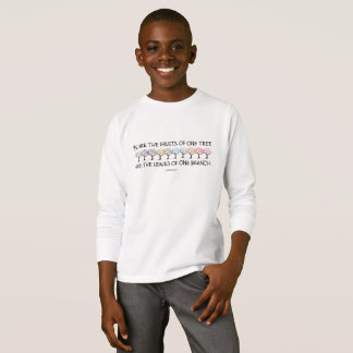 Safe With Me Tree Boy's Long Sleeve T-Shirt