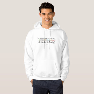 Safe With Me Tree Men's Basic Hoodie