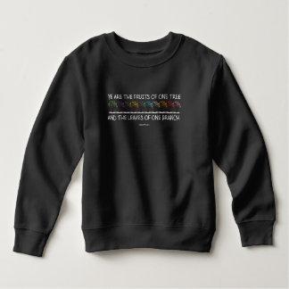 Safe With Me Tree Toddler Dark Sweatshirt