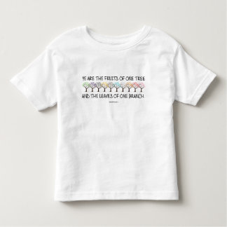 Safe With Me Tree Toddler Jersey T-Shirt