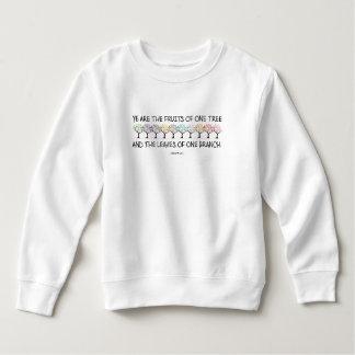 Safe With Me Tree Toddler Sweatshirt