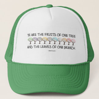 Safe With Me Tree Trucker Hat