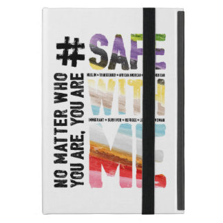 Safe With Me Watercolor iPad Case