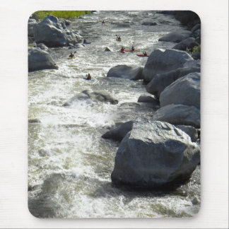 Safely Through The Boulders Mousepad
