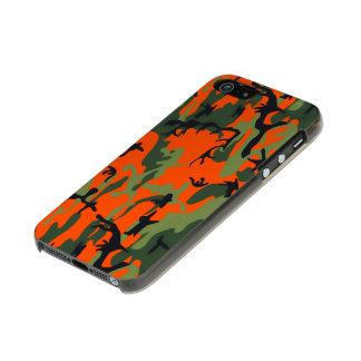 Safety Blaze Orange Green Camo Incipio Feather® Shine iPhone 5 Case