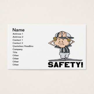 Safety Business Card