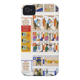 Safety card Case-Mate iPhone 4 case