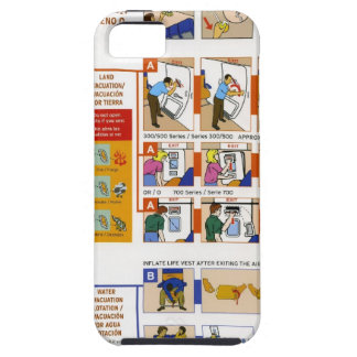 Safety card iPhone 5 covers