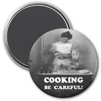 Safety Cooking Reminder Magnet