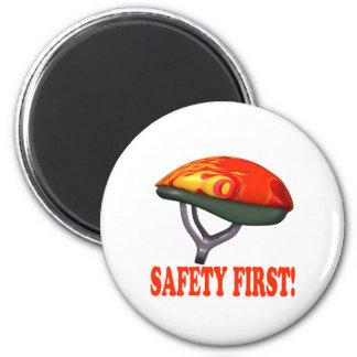 Safety First 6 Cm Round Magnet