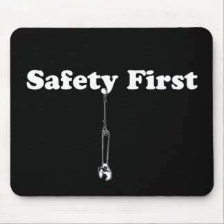 Safety First Mouse Mat