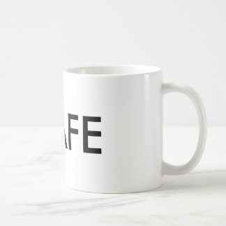Safety First office play on words coffee mug