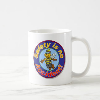 Safety is no accident. coffee mug