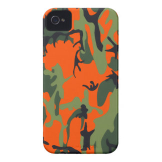 Safety Orange and Green Camo Case-Mate iPhone 4 Case