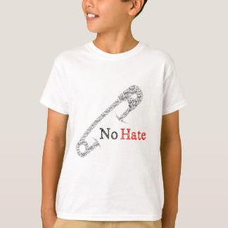 Safety Pin No Hate T-Shirt