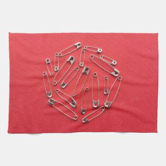 Safety-pins Kitchen Towel